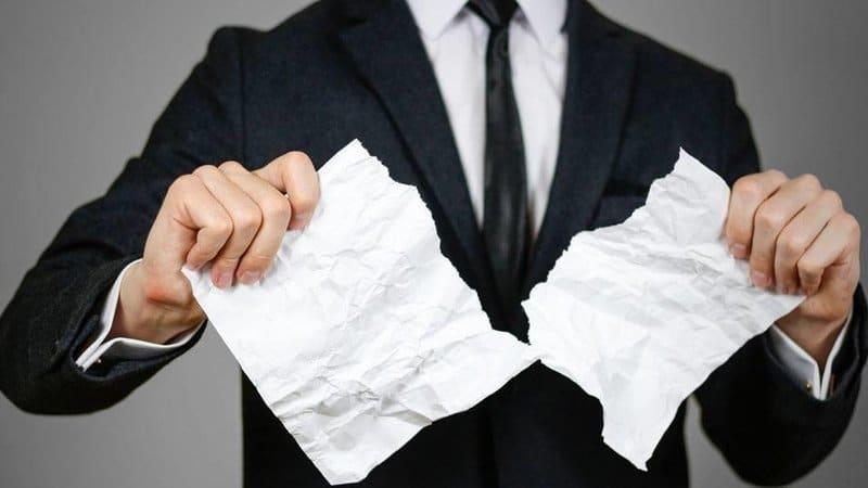 Расторжение договора кредитования с банком